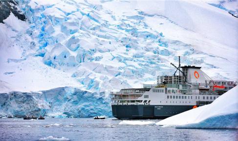 <海恩典号>南极三岛+南极圈 --穿越南极圈 南乔治亚岛 福克兰群岛、南极半岛+阿根廷+玻利维亚   延伸线35天