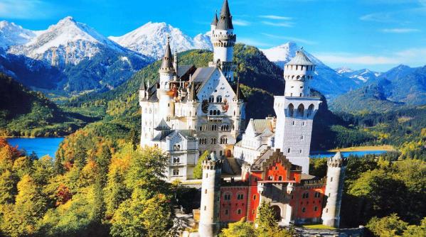 <特价四国>德法意瑞四国12日游 新天鹅堡+水晶世界+卢瓦卫河畔科讷库尔