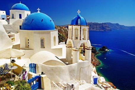 【希腊+西葡】金牌希腊+一价全含西班牙葡萄牙15日(圣岛悬崖酒店)