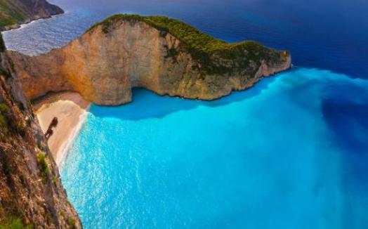 <希腊一地全景14天>扎金索斯 圣托里尼 米克诺斯  梅黛奥利 德尔菲古遗址